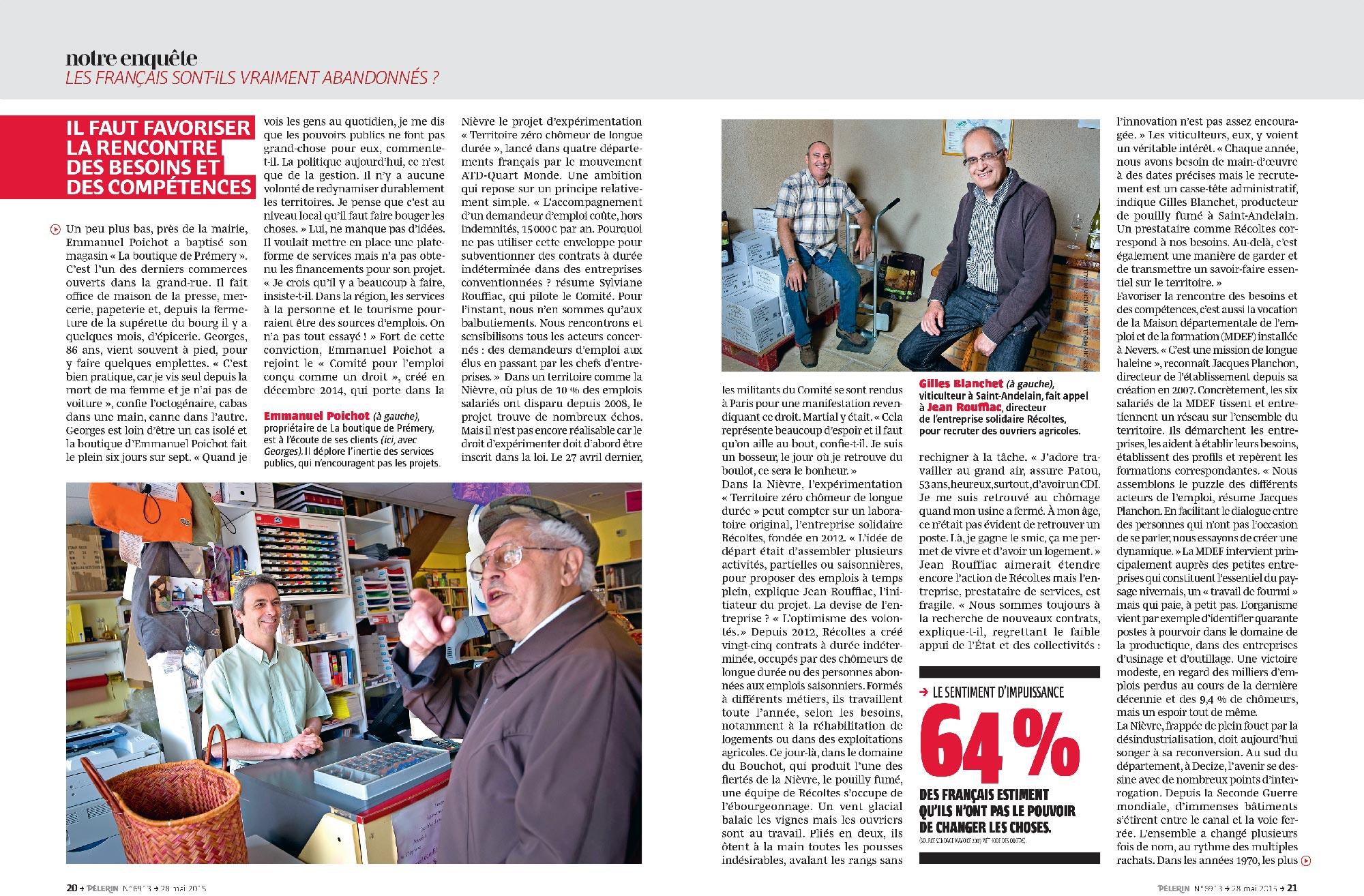 rencontres pelerin magazine